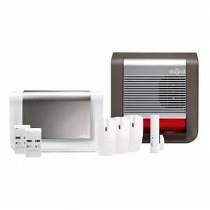 Alarme Maison Telesurveillance : alarme maison sans fil compatible animaux diagral ~ Premium-room.com Idées de Décoration