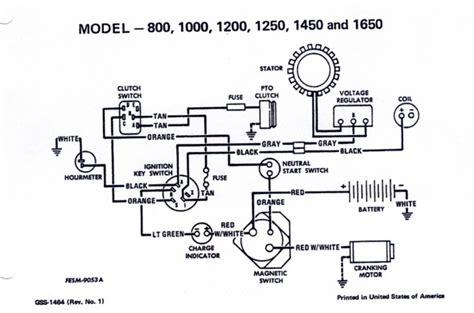 Cub Cadet Electrical Diagram For Solenoid by Cub Cadet Lt1045 Wiring Diagram