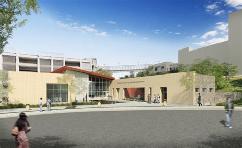 Student Health And Counseling Building At Cal State San