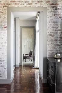 Refinishing Parquet Floors Diy by How To Whitewash Brick Walls Striking White Brick Wall Ideas
