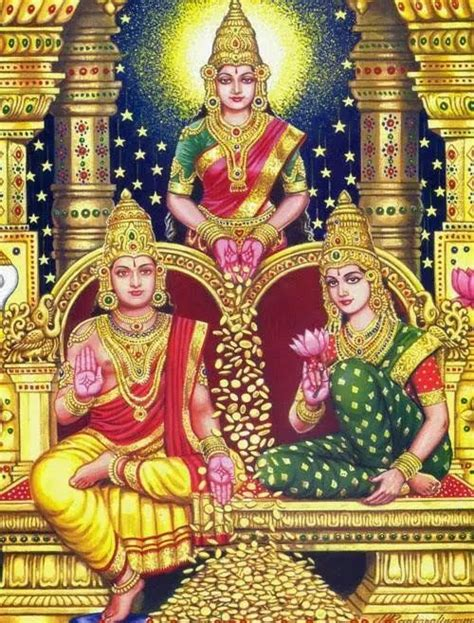 lord kuber his consort and goddess lakshmi hindu goddesses and lord