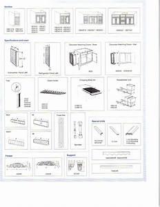 [ Frameless Cabinets General Dimensions Rta European