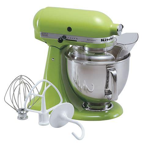 green kitchen aid mixer kitchenaid ksm150psga artisan 174 series green apple 5 quart 3996