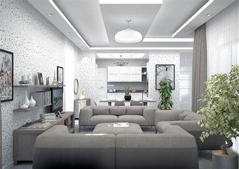 salon cuisine en l maison en l de 130m2 lavande traditionnel azur logement