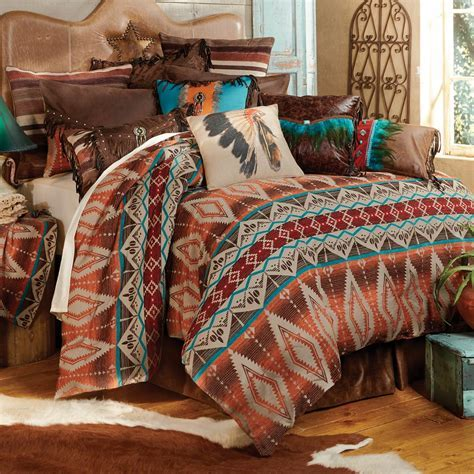 Western Bedding Sets: Queen Size Sonoran Sky Bed Set Lone