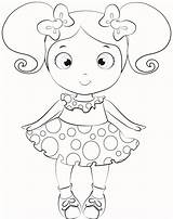 Doll Coloring Pages Baby Dolls Lol American Colouring Printable Alive Drawing Surprise Print Cartoon Drawings Getcolorings Paper Para Dorita Miss sketch template