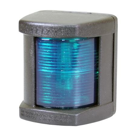 Canal Boat Navigation Lights by Classic Led 12 Starboard Green Navigation Light