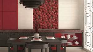 Adhésif Carrelage Cuisine : carrelage adhesif mural cuisine maison design ~ Premium-room.com Idées de Décoration