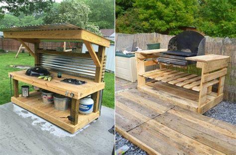 large portable kitchen island fai da te come creare un grill con i pallet