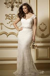 What are the best solutions for plus size brides tips on for Plus size sheath wedding dress