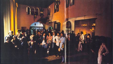"Feelnumbcom Exclusive Photos Location Of The Ghostly Eagles ""hotel California"" Lobby Gatefold"