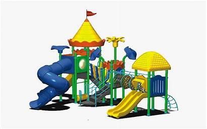 Playground Park Clipart Cartoon Transparent Slide Webstockreview