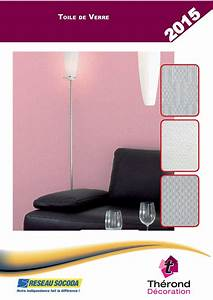 Sous Couche Toile De Verre : calam o catalogue therond decoration toile de verre ~ Premium-room.com Idées de Décoration