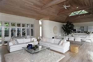 Hamptons Modern Living Room - Contemporary - Living Room