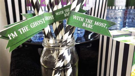 beetlejuice birthday party ideas photo    catch