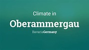 Climate & Weather Averages in Oberammergau, Bavaria, Germany