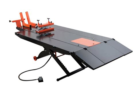 Upgraded Apluslift Mt1500x Air Op Motorcycle Lift Table