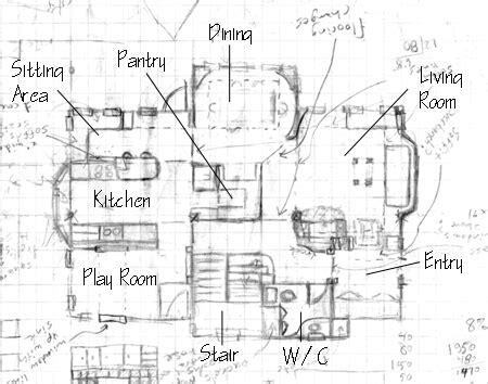 simple kitchen island draw floor plans