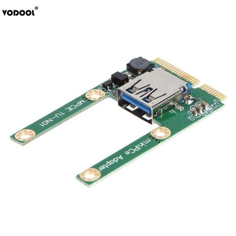 Pci exp usb 3.0 kart 2 port pci express kart usb 3.0 kart. VODOOL Mini PCI E To USB3.0 Expansion Card Laptop PCI Express PCIe To USB 3.0 Converter Riser ...