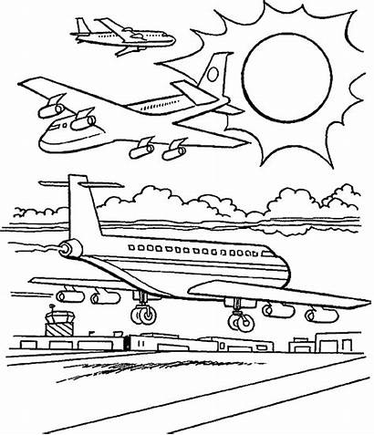 Coloring Airplane Adults Transportation Immagini Bestappsforkids Colorare