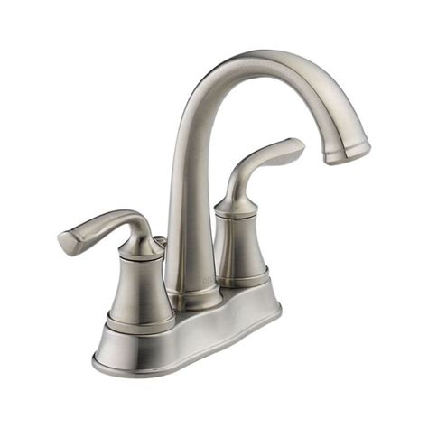 Delta Lorain Faucet Brushed Nickel by 12 Stainless 25716lf Ss Lorain Two Handle Centerset