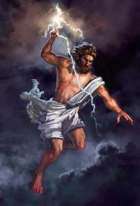 Zeus–god of the Olympics and Supreme Ruler of Mt Olympus ...