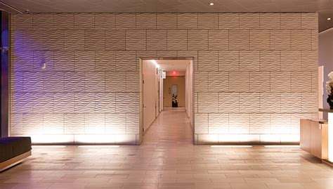 white marble tile wave sandstone pattern highlights hotel lobby 2012 08