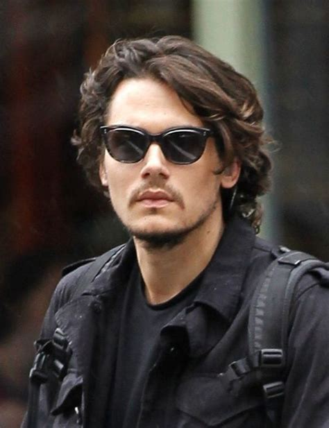 johnny depp hair styles mayer textured layered hairstyle 1850
