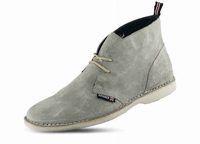 Leather Shoes Clarks Chamois Type Male Grey
