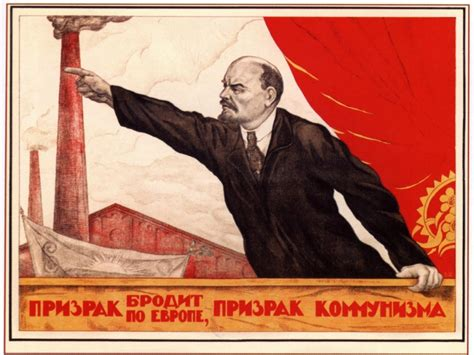 communist ghost soviet poster russian legacy