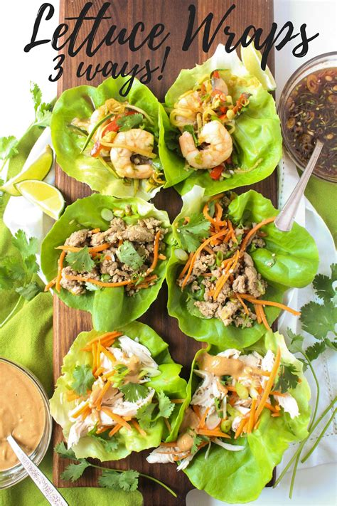 healthy lettuce wrap recipes fannetastic food registered dietitian blog recipes healthy