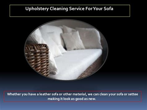 local upholstery cleaning services professional
