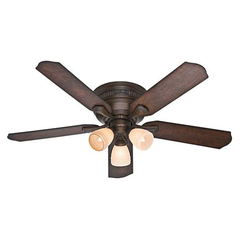 Low Profile Ceiling Fans Home Depot by Anslee 46 In Indoor Low Profile Matte Silver