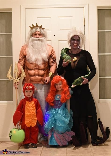 mermaid family costume halloween easy diy