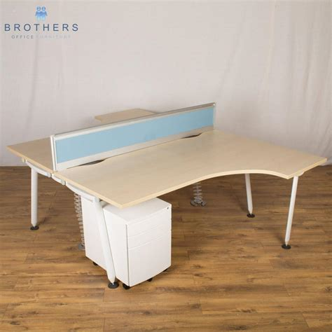 used corner desk laminate used corner desk l shape maple