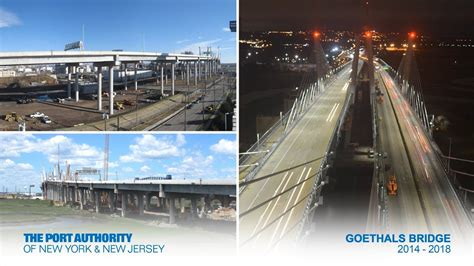 Goethals Bridge Construction Time-Lapse - YouTube