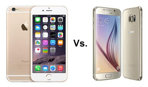 samsung galaxy   iphone  comparison