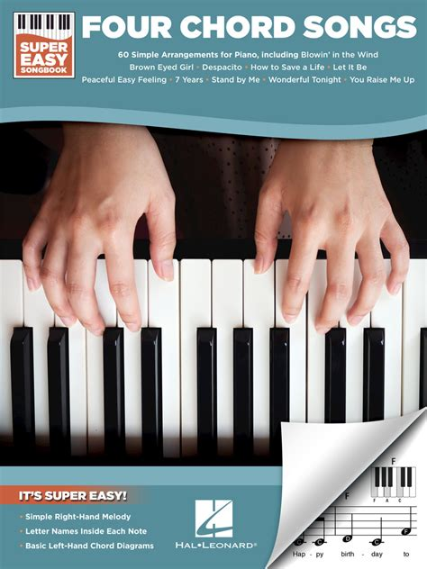 Learn these 9 songs with only 4 chords! Four Chord Songs - Super Easy Songbook   Scribd
