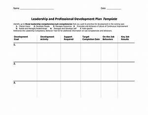 individual development plan template word google search With professional development plan sample templates