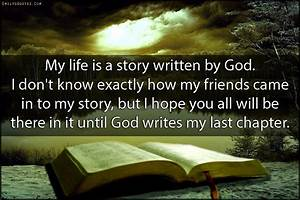 My life is a st... Life Story Book Quotes