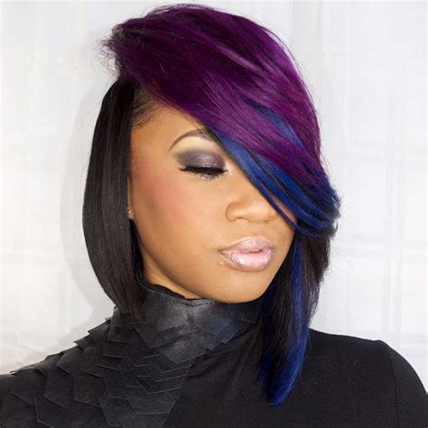 weave bob haircuts for black women hairstylo