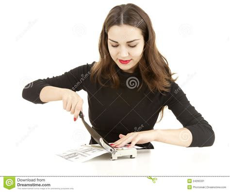Illegal Manufactory Of Money Stock Image