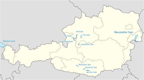Seen In österreich Karte