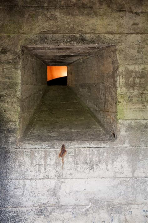 tiny war bunker  unique underground home