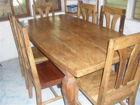 gings  seater tugas dining table set cebu furniture
