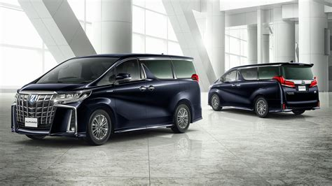 Toyota Vellfire Modification by Toyota Alphard Vellfire Updated New 3 5l V6 With 8 At