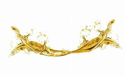 Liquid Golden Clipart Transparent