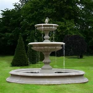 Medium, Two, Tier, Vermeer, Garden, Fountain