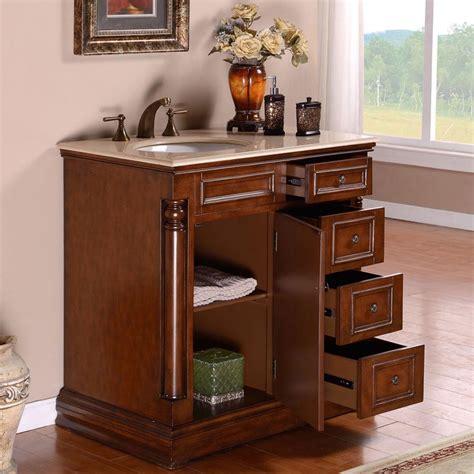 Bathroom Vanities And Cabinets Sets by Silkroad Exclusive 36 Single Sink Cabinet Bathroom