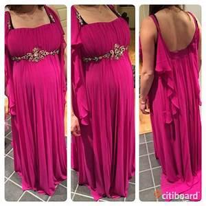 Festklänning gravid säljes
